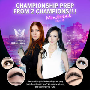 2019-05-18-canada montreal eyelash extension training championship preparation
