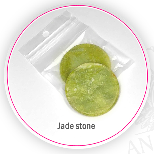 jade stone for eyelash glue