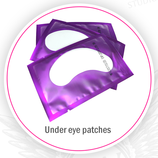 Angel Wings under eye patches