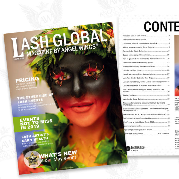 Lash Global Magazine #3 January 2019