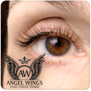 Russian volume eyelash extension at Angel Wings - Luxury lash and brow studio