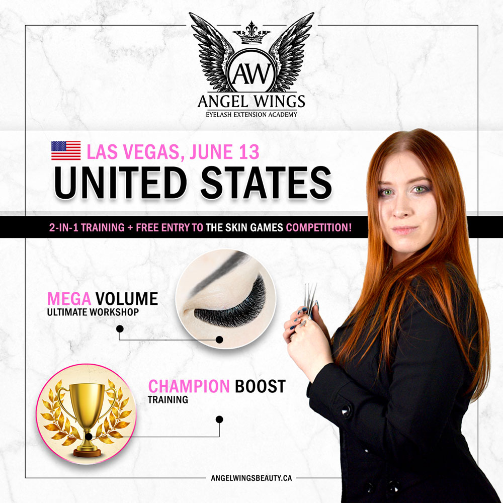 Lash extension courses – Angel Wings Eyelash Academy