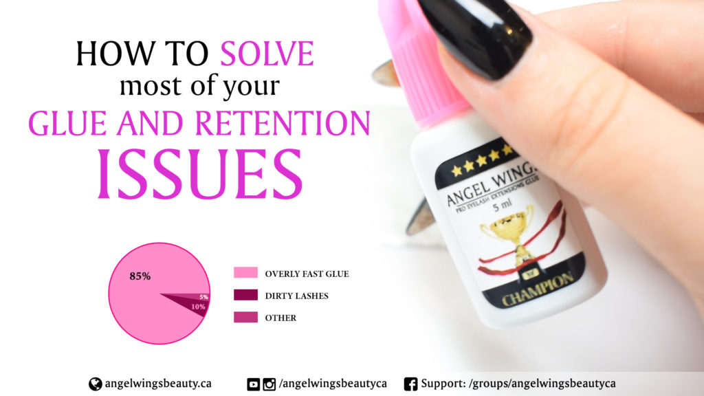 How to solve most of your glue and retention issues.