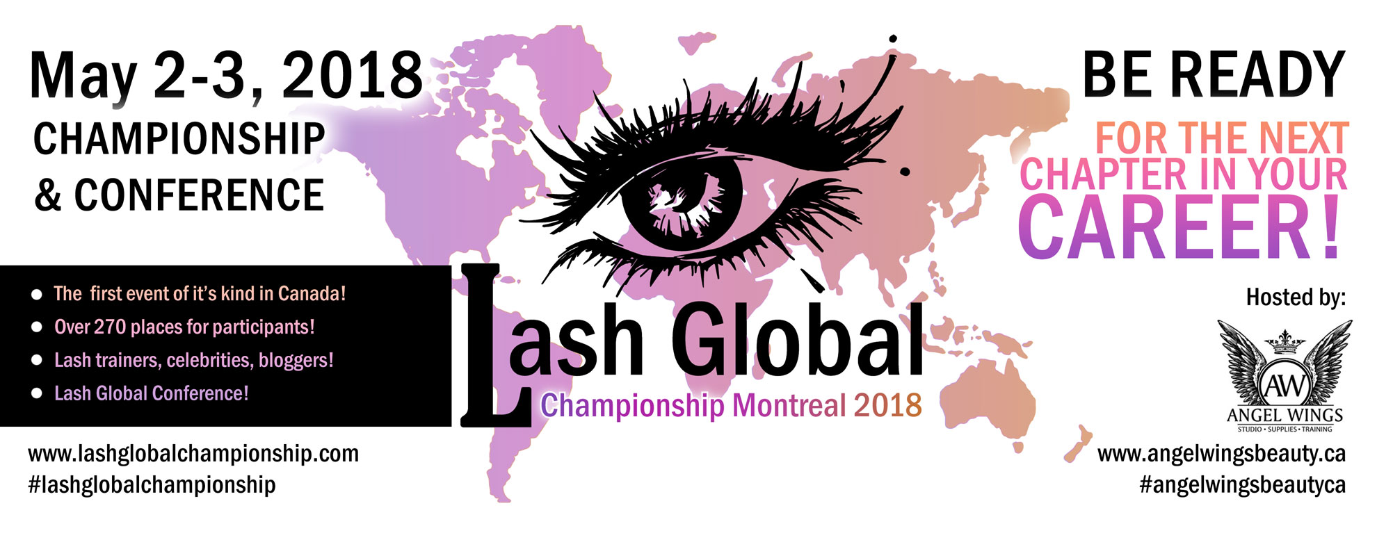 Lash Global Championship and conference Montreal Canada 2-3 may 2018